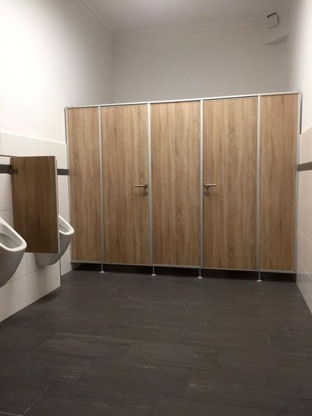 HEBENSTREIT Sanitärtrennwände - WC-Trennwände HEB 25